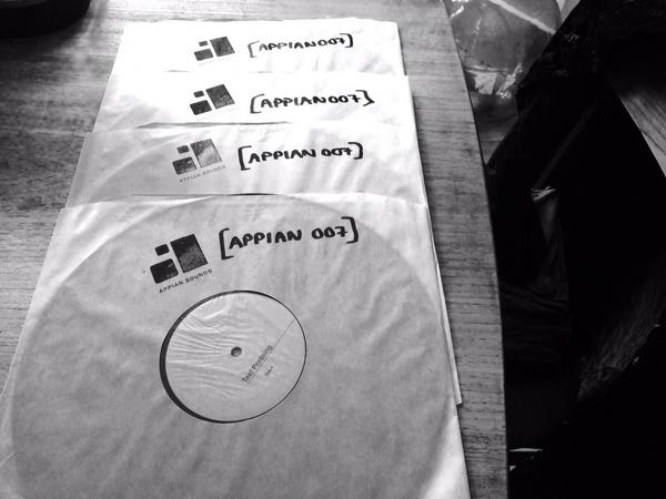 [APPIAN007] Test Pressings just arrived! Sounding Lovely