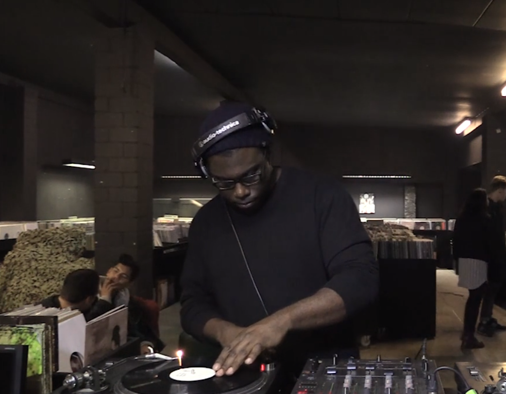 Fred P serves up some Pecans from The Boiler Room