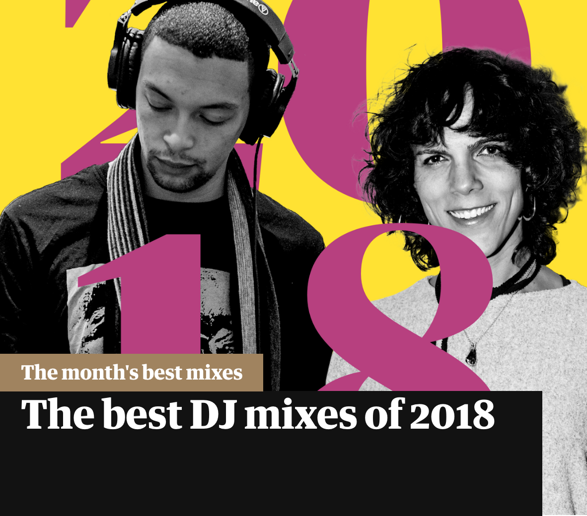 Forest Drive West featured in The Guardian's Best DJ mixes of 2018